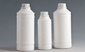 Chemical properties of polyethylene liquid bottles