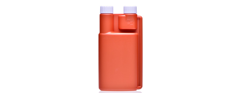 What is plastic twin neck bottle