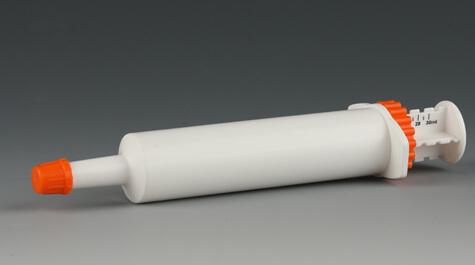 New packaging veterinary syringe