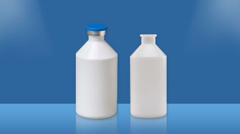 Common types of veterinary medicine plastic bottles