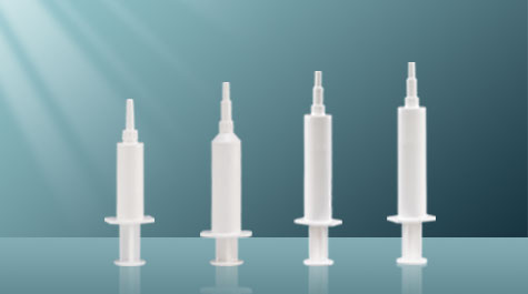 Detection of residue on ignition of veterinary syringe