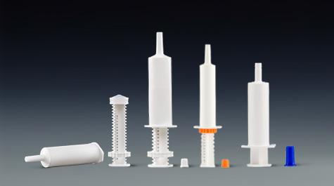 Test method for easy oxides of veterinary syringe