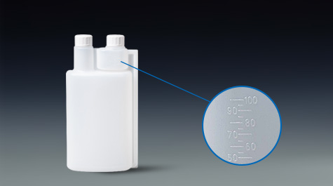 Choose a high-quality bettix twin neck bottle like this