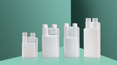 Common problems solutions in twin neck measuring bottle molding