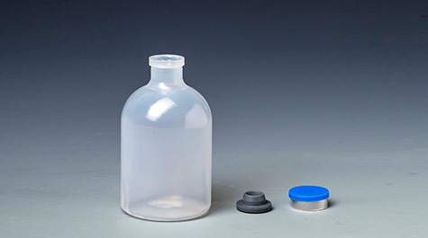 The principle of autoclavable sterilization of plastic vaccine vial