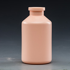 100ml PE Pink Bottle B13